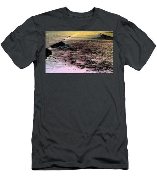 Sea Foam Waves Men's T-Shirt (Athletic Fit)