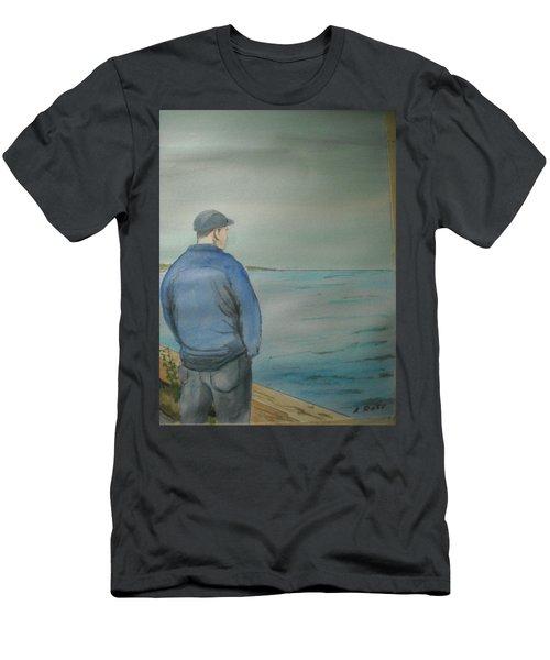 Sea Gaze Men's T-Shirt (Athletic Fit)