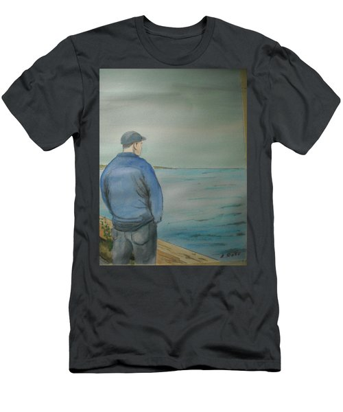 Sea Gaze Men's T-Shirt (Athletic Fit)