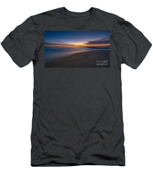 Sea Girt Sunrise New Jersey  Men's T-Shirt (Slim Fit) by Michael Ver Sprill