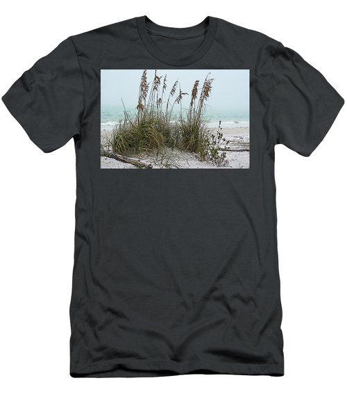 Sea Oats In Light Fog Men's T-Shirt (Athletic Fit)