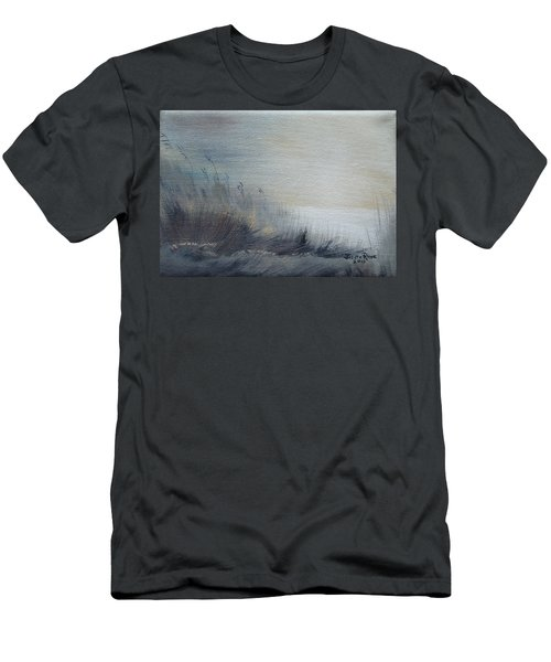 Men's T-Shirt (Athletic Fit) featuring the painting Sea Oats by Judith Rhue