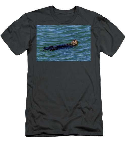 Sea Otter Men's T-Shirt (Athletic Fit)