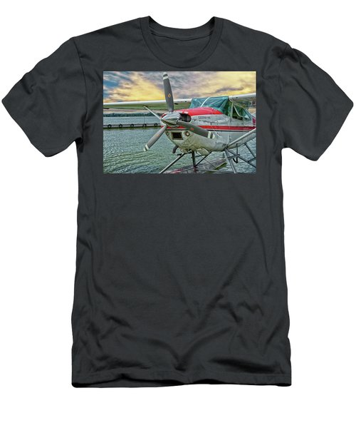 Sea Plane Men's T-Shirt (Athletic Fit)
