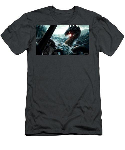 Sea Serpent Men's T-Shirt (Athletic Fit)