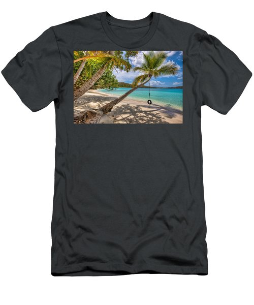 Sea Swing Men's T-Shirt (Athletic Fit)