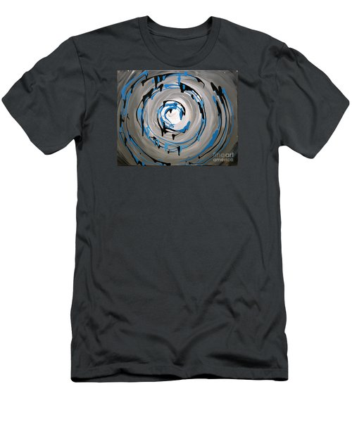 Sea Swirl  Men's T-Shirt (Athletic Fit)