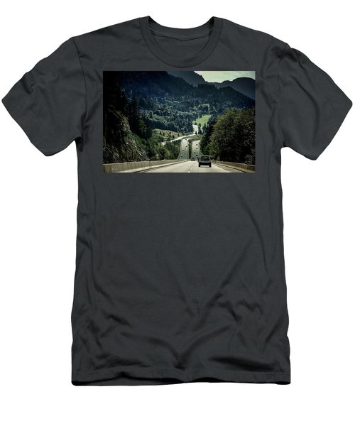 Sea To Sky Highway Men's T-Shirt (Athletic Fit)