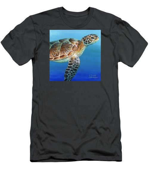 Sea Turtle 2 Of 3 Men's T-Shirt (Athletic Fit)