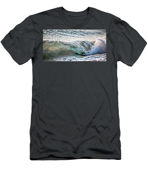 Sea Turtles In The Waves Men's T-Shirt (Athletic Fit)