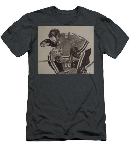 Seabs Scores The Winner Men's T-Shirt (Slim Fit) by Melissa Goodrich