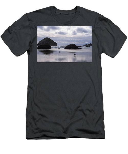 Seagull Reflections Men's T-Shirt (Athletic Fit)