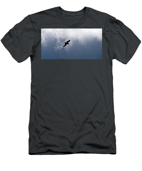 Men's T-Shirt (Slim Fit) featuring the photograph Seagull's Sky 1 by Jouko Lehto