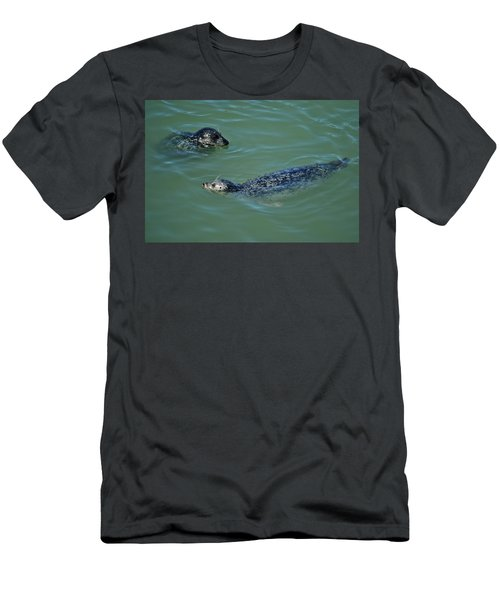 Sealion Friends Men's T-Shirt (Athletic Fit)
