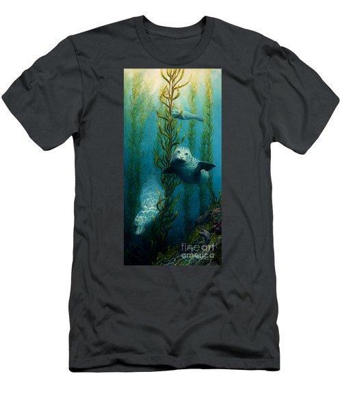 Seals Of The Sea Men's T-Shirt (Athletic Fit)