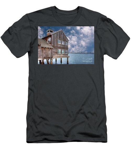 Seaport Village Men's T-Shirt (Athletic Fit)