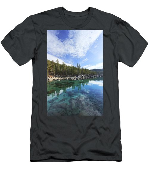 Men's T-Shirt (Athletic Fit) featuring the photograph Search For Depth by Sean Sarsfield