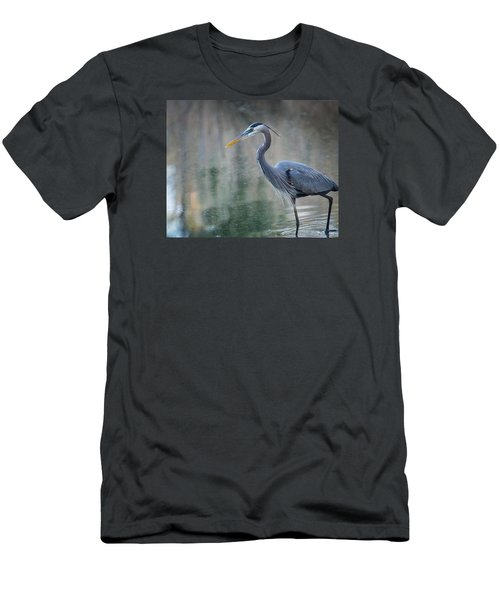 Men's T-Shirt (Athletic Fit) featuring the photograph Searching For Lunch by Julie Andel