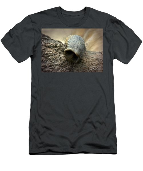 Men's T-Shirt (Slim Fit) featuring the photograph Searching by Lisa L Silva