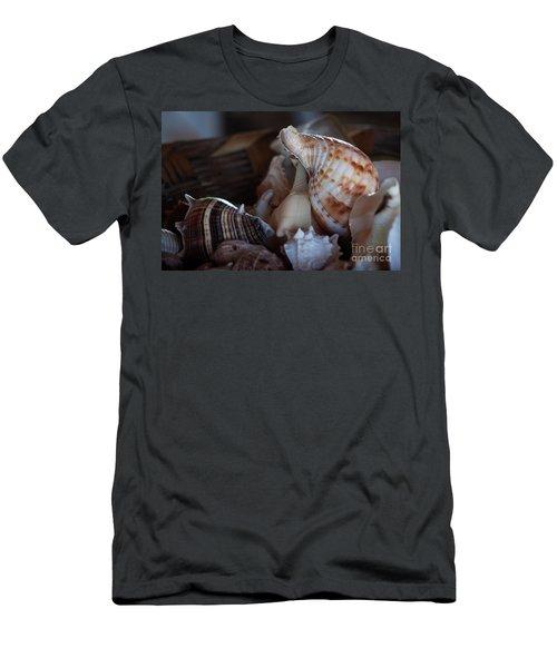 Seashells  Men's T-Shirt (Athletic Fit)