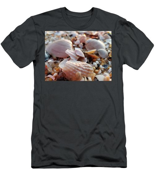 Seashells And Pebbles Men's T-Shirt (Athletic Fit)