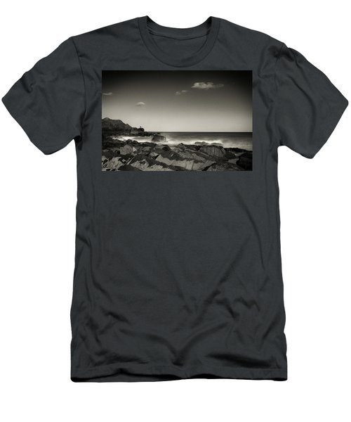 Seaside Solitude Men's T-Shirt (Athletic Fit)