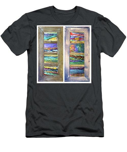 Seasides Men's T-Shirt (Athletic Fit)