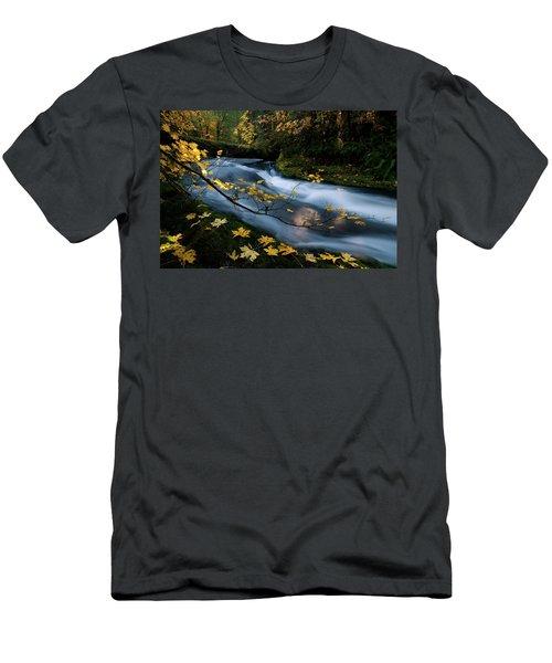 Seasonal Tranquility Men's T-Shirt (Athletic Fit)