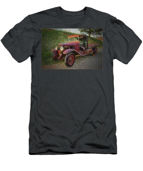 Seasoned Ol' Truck Men's T-Shirt (Athletic Fit)