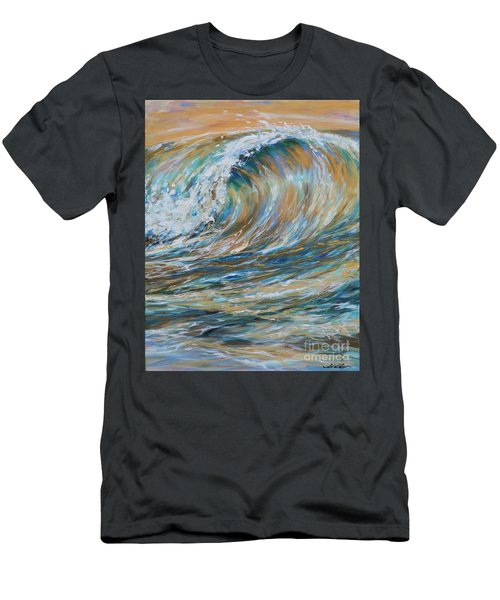 Seaspray Gold Men's T-Shirt (Athletic Fit)