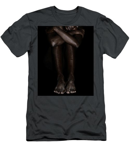 Seated Woman 2 Men's T-Shirt (Athletic Fit)