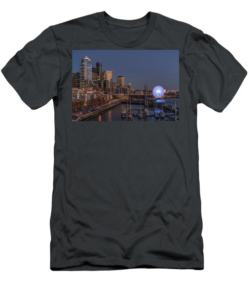 Seattle Autumn Nights Men's T-Shirt (Athletic Fit)