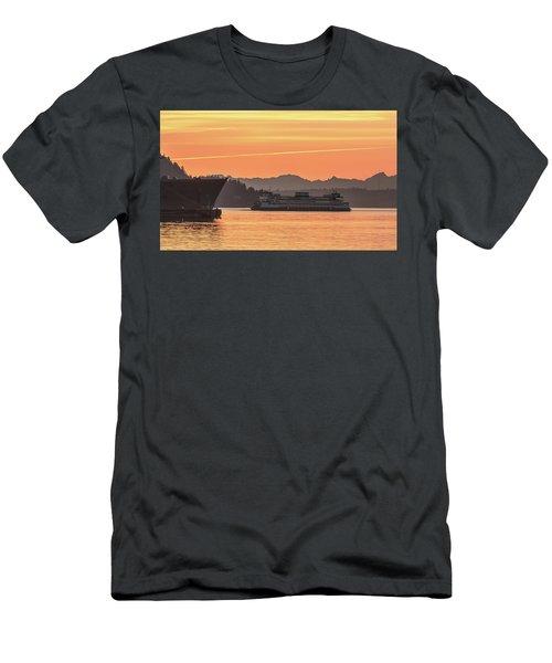 Seattle - Bremerton Ferry Men's T-Shirt (Athletic Fit)