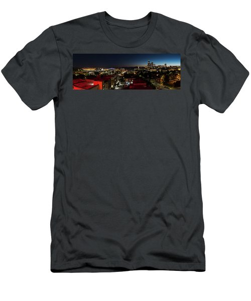 Seattle City And Port Men's T-Shirt (Athletic Fit)