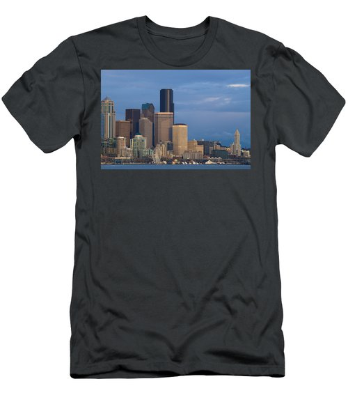 Men's T-Shirt (Slim Fit) featuring the photograph Seattle by Evgeny Vasenev