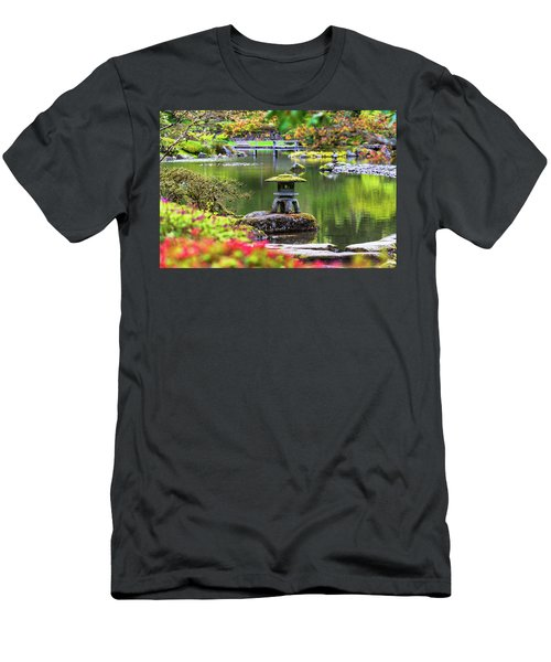 Seattle Japanese Garden Men's T-Shirt (Athletic Fit)