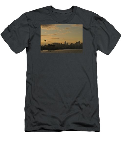 Seattle Morning Men's T-Shirt (Athletic Fit)