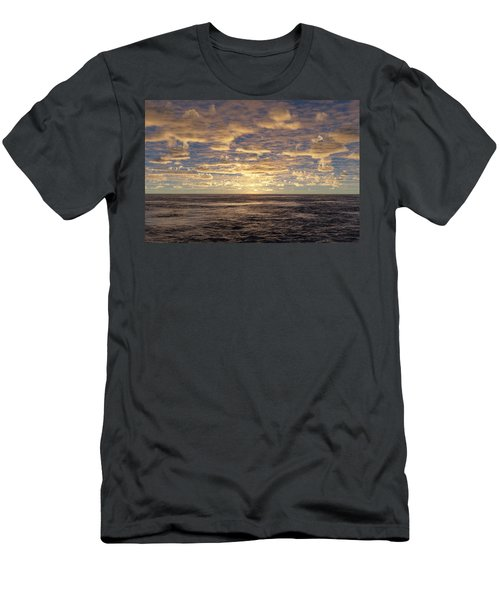 Men's T-Shirt (Slim Fit) featuring the photograph Seaview by Mark Greenberg