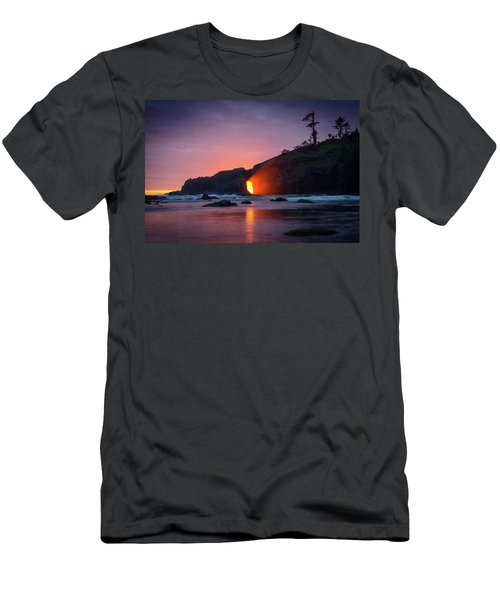 Second Beach Light Shaft Men's T-Shirt (Athletic Fit)