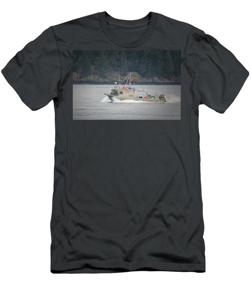 Men's T-Shirt (Slim Fit) featuring the photograph Second Wind by Randy Hall