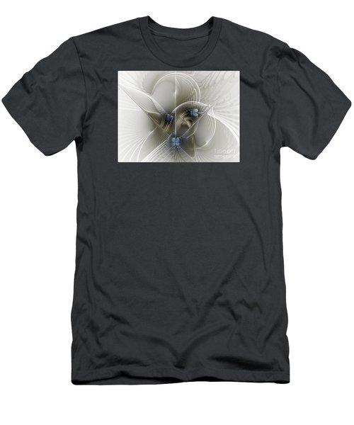 Men's T-Shirt (Slim Fit) featuring the digital art Secret Chambers by Karin Kuhlmann