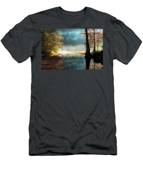 Secret Hideaway At Beavers Bend Men's T-Shirt (Athletic Fit)