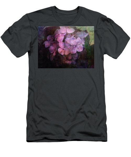Secret Hydrangea 1538 Idp_2 Men's T-Shirt (Athletic Fit)