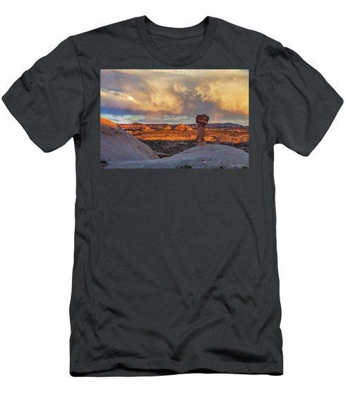 Secret Spire Sunset 1 Men's T-Shirt (Athletic Fit)