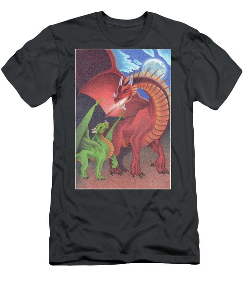 Secrets Of The Flame Men's T-Shirt (Athletic Fit)
