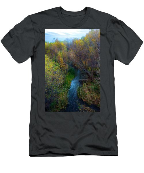 Sedona Stream Men's T-Shirt (Athletic Fit)