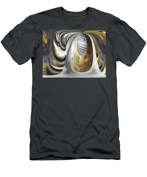 Men's T-Shirt (Slim Fit) featuring the digital art Seen In Stone by Wendy J St Christopher