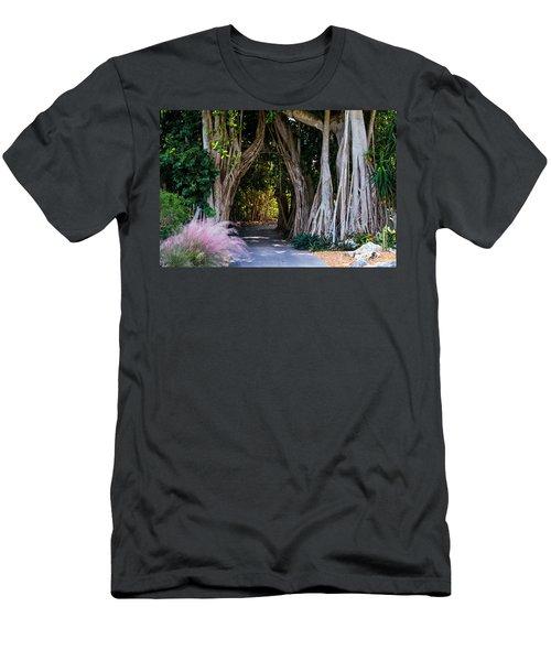 Selby Secret Garden 2 Men's T-Shirt (Athletic Fit)