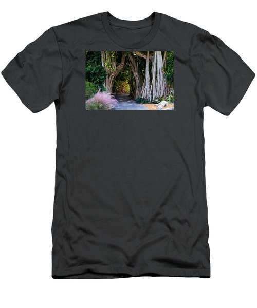 Selby Secret Garden 2 Men's T-Shirt (Athletic Fit)