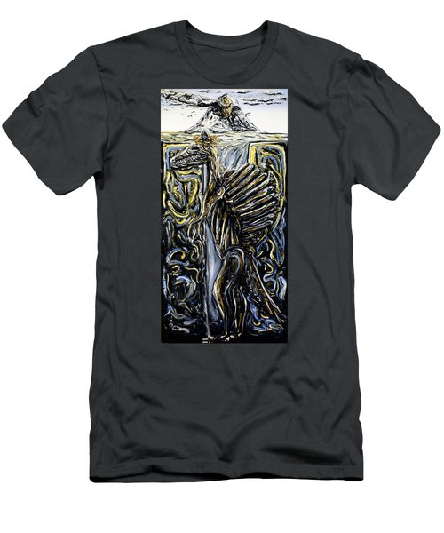Self-portrait- Meme Men's T-Shirt (Slim Fit) by Ryan Demaree